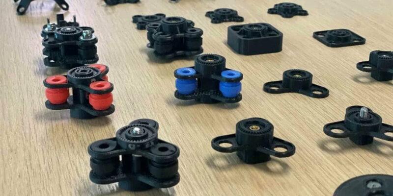 การออกแบบซ้ำสำหรับแท่นวางสมาร์ทโดยใช้ 3D Printer