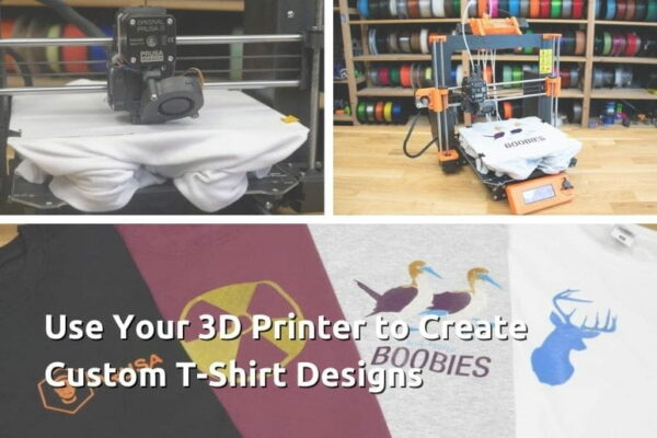 Use Your 3D Printer to Create Custom T-Shirt Designs