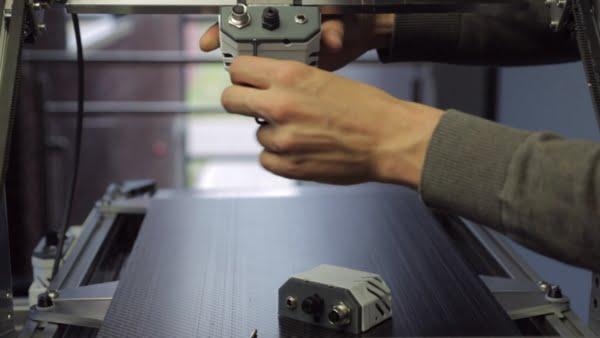 Interchangeable Hotend set for Blackbelt 3d printer