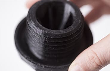 Chemical resistance 3D Print Sample with Z-SEMIFLEX Material