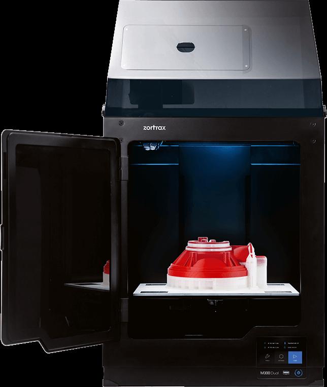 Zortrax M300 Dual 3D printer Open Front Door