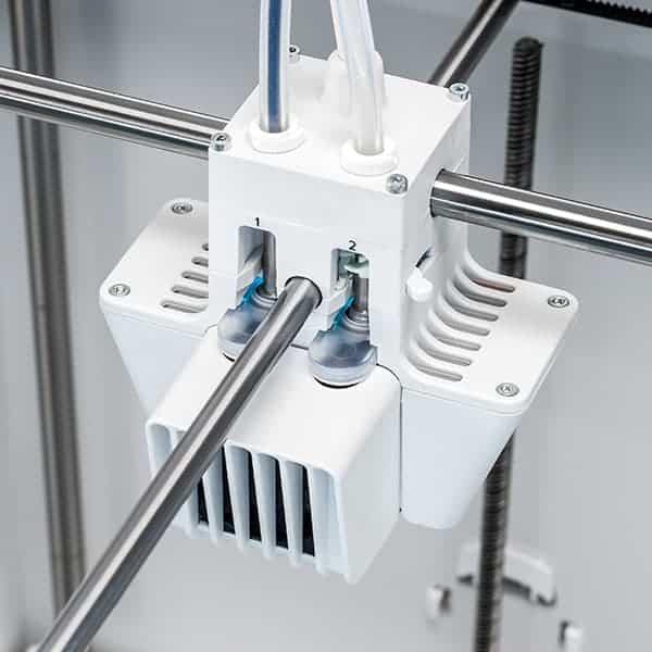 Ultimaker S5 3D Printer Print Head Top View