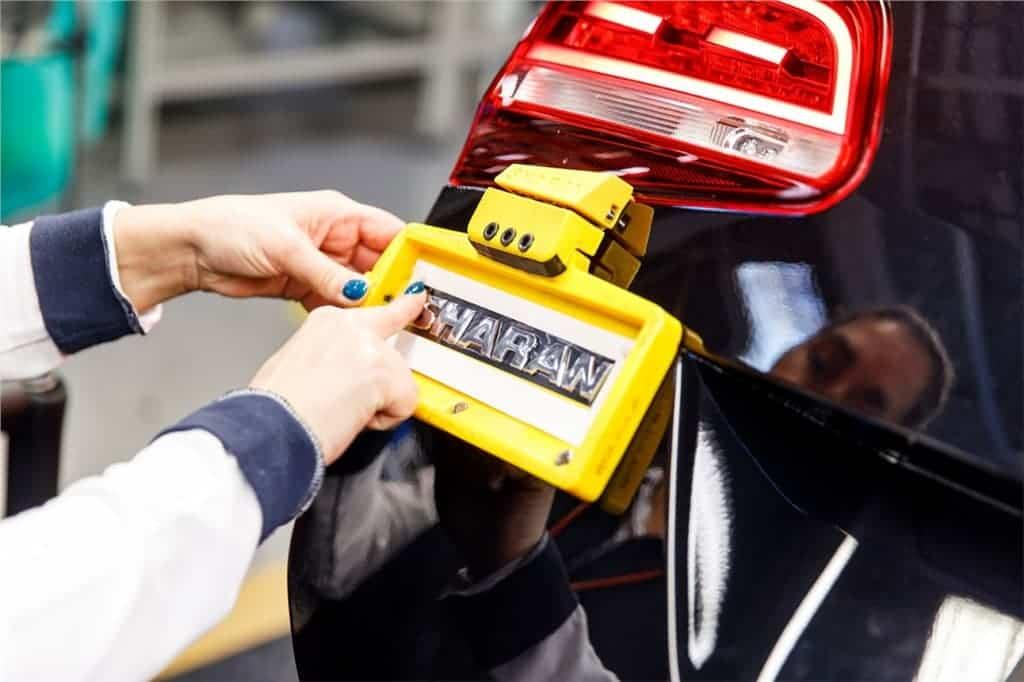 Volkswagen 3D Printing Jig from Ultimaker
