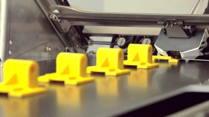 Productions 3D Printing using Black Belt 3D Printer