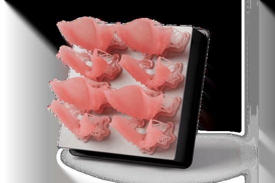 Full Dentures 3D Print Samples