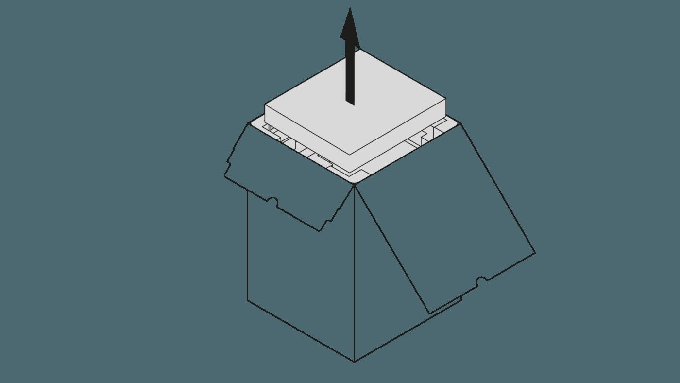 Remove Foam from M300 Dual 3D Printer Box