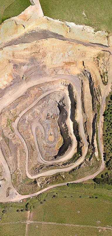 Mining Site survey 3d scan